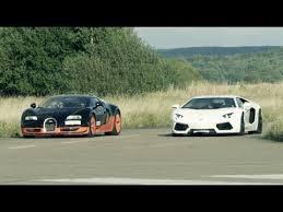 bugatti veyron vs lamborghini veneno ultra hd 4k 308 km h race lamborghini aventador vs bugatti veyron