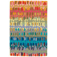 dash u0026 albert paint chip micro hooked wool rug