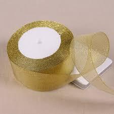 glitter ribbon wholesale 25yards roll 40mm metallic glitter ribbon colorful gift package