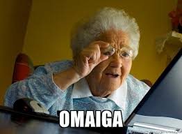 Surprise Meme - omaiga internet grandma surprise meme generator funny