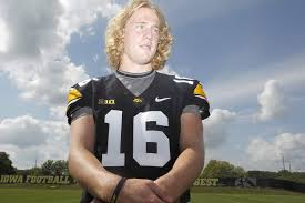iowa qb beathard cuts his hair for a cause the gazette
