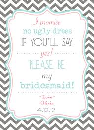 bridesmaids invitation bridesmaid invite stuff to try 50th wedding and