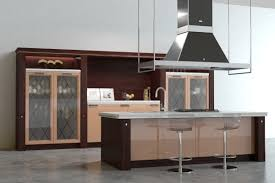 3d model scavolini baccarat kitchen brown cgtrader