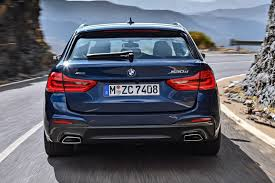 2018 bmw 5 series touring petrol engines more power and a 10 per
