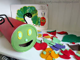 crafty couple the very hungry caterpillar kid craft