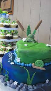 frog themed baby shower frog themed baby shower cakecentral