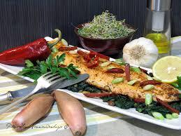 comment cuisiner une grosse truite plancha de filet de grosse truite bio style catalan