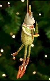 patience brewster flying pig ornament krinkles