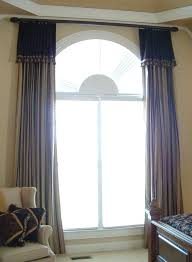 How Wide To Hang Curtains Best 25 Arched Window Curtains Ideas On Pinterest Arched Window