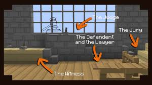 minecraft how to build a court room youtube