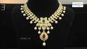 jewelry gold diamond necklace images Latest diamond necklace set malabar gold and diamonds hybiz jpg