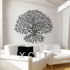 Home Gym Studio Design Aliexpress Com Buy Pipal Bo Tree Wall Decals Namaste Vinyl