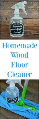 Wood Floor Cleaner Diy Easy Wood Floor Cleaner 4 Real