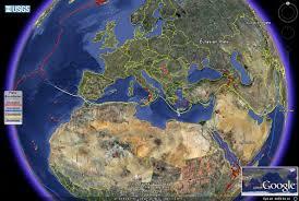 World Plate Boundaries Map by Worldvolcanoes Eurasian Plate 22