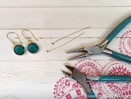 earrings diy how to make your own diy earring wires running with