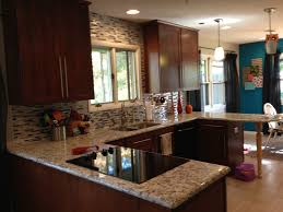 Kitchen Countertops And Backsplash Pictures Ashen White Granite Allen U0026 Roth Glacier White Backsplash