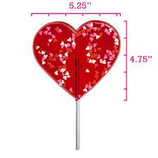heart lollipop confetti heart lollipops by melville candy