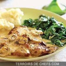 comment cuisiner basse cote côtes de veau à la crème recette de paul bocuse et bertron