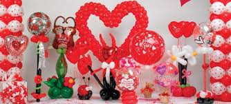 Valentines Day Balloon Decor by Valentine U0027s Day Commercial Balloons Vancouver Blog