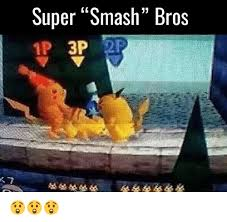 Smashing Meme - super smash bros 3p meme on me me