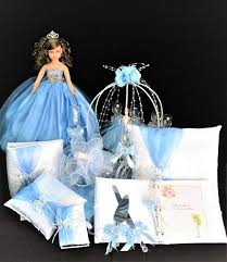 cinderella quinceanera theme cinderella quinceanera package toasting set doll pillows guest