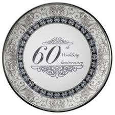 60th anniversary plates custom traditional 60th wedding anniversary gifts porcelain