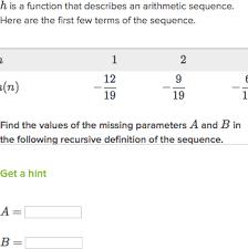 explicit formulas for arithmetic sequences algebra video