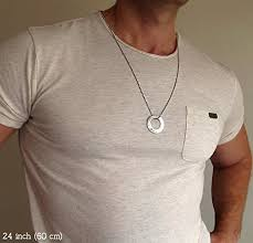 mens engraved necklaces personalized mens necklace chain with engraved