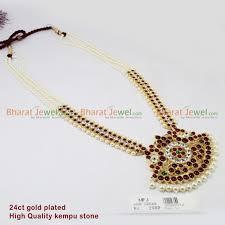 kempu temple set bharatanatyam jewellery