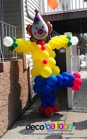 payaso 5 9 globos pinterest clown balloons circus party and