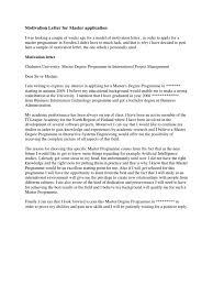 motivation letter motivation letter for master application economics microeconomics