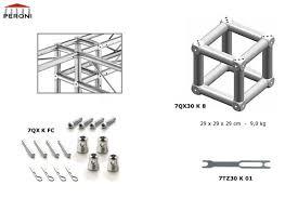 americane tralicci 7qx30 americane quadrate 29 cm americane in alluminio peroni