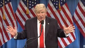 Snl Red Flag Watch Alec Baldwin Mock Trump U0027s U0027pee Party U0027 Press Conference