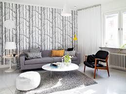Round Table Rectangular Rug Accessories Stunning Image Of White Living Room Decoration Using