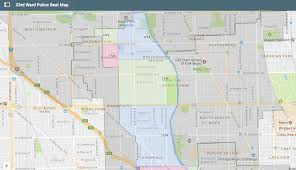 Chicago Community Area Map by Ward 33 Alderman Deb Mell