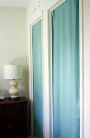 Closet Door Opening Ideas To Cover A Door Opening Blinds With Curtains Energoresurs