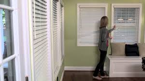 decorating window decor with levolor blinds on olive green wall
