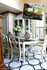Diy Paint Dining Room Table Painted Dining Room Table And Chairs Best Paint For Dining Room