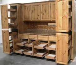 rustic alder cabinet doors pantry pull out shelves by slideoutshelvesllc com with doors