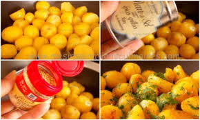 cuisiner pomme de terre nouvelle pommes de terre sautées au persil et moutarde le cuisine de