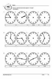 clock worksheets o u0027clock half and quarter sheet 2a