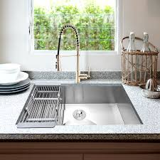 metal kitchen sink and cabinet combo 32 l x 18 w undermount kitchen sink with faucet