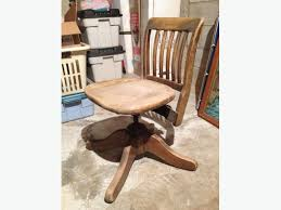 Krug Furniture Kitchener Antique Solid Oak Swivel Office Chair Other South Saskatchewan