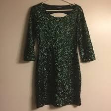 women u0027s green mini dress sequin on poshmark