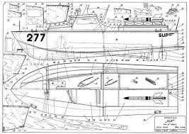 Free Balsa Wood Rc Boat Plans by The Sup 277 Is One Of The Model Airplane Plans Available For