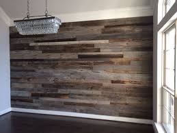 reclaimed wood accent wall wood from recwood planks in stylish ideas wood accent walls reclaimed wall from recwood planks