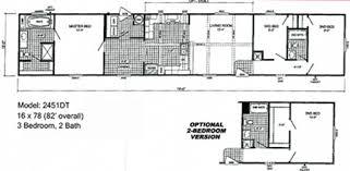 4 Bedroom Single Wide Floor Plans Single Wide Floorplans Mccants Mobile Homes