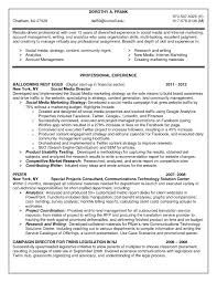 marketing resume examples social media resume sample job and resume template social media resume objective social media marketing resume sample