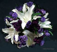 wedding flowers calgary white with purple flowers calgary wedding flower bridal party