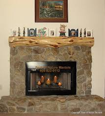 decor u0026 tips cool cedar log fireplace mantel shelf with faux